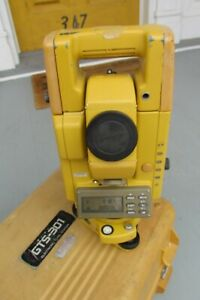 Topcon Gts 301 2 Total Station For Surveying Works Fine Workhorse