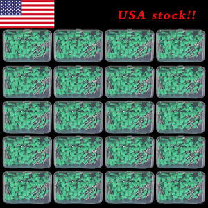 2000pc Dental Polishing Cup Teeth Prophy Cup Latch Rubber Green 20 Box Cups