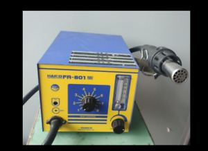 Used Good Function Hakko Fr 801 Hot Air Rework Station input 220v ship Express