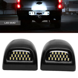 2x Led License Plate Light 36 Smd For Chevy Silverado Avalanche 1500 2500 3500