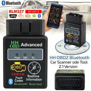 Bluetooth Elm327 Obd2 Scanner Android Car Auto Scan Diagnostic For Ford Vauxhall