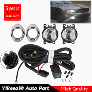 For Ford Focus 2012 2014 Fog Light Kit Driving Lamps W Harness Ra