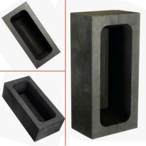 Graphite Casting Ingot Bar Mold Gold Silver Copper Melting Refining Scrap Tool