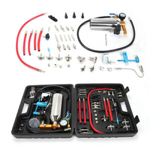 Non Dismantle Gx100 Fuel Injector Cleaner Kit Tester For Petrol Efi Adapter Us
