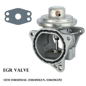 Egr Valve For Audi Vw Golf Touran Jetta Seat Skoda 1 9 2 0 Tdi Oem 038131501an