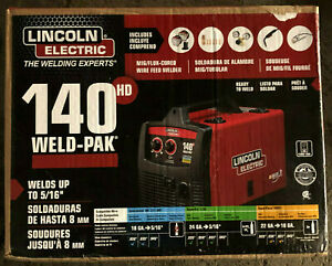 Lincoln Electric 140hd Weld Pak Mig Wire Feed Welder Brand New