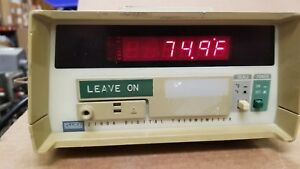 Fluke 2190a Digital Thermometer Working