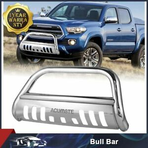 For 1999 2006 Toyota Tundra sequoia Stainless Bull Bar Push Brush Bumper Grille