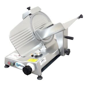 Univex 4610 Manual Commercial Meat Slicer 10 Blade Belt Driven 1 4hp