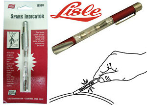 Lisle 19380 Spark Tester Plugs Wires Coils Test Tool New Free Shipping Usa