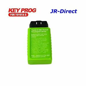Jr Tool For Toyota G And H Chip Key Programmer Vehicle Obd Remote Key Program