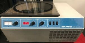 Beckman Gpr Refrigerated Benchtop Centrifuge With Rotor Inserts And Buckets