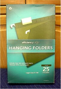 Ampad Hanging File Folders legal Size box Of 25
