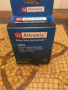 Nib Altronix Smp5 Power Supply Charger Single Output 6 12 24vdc Board Only