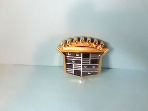 New Nos Cadillac 2000 01 Catera Dhs Dts 24kt Gold Plated Grill Crest Emblem