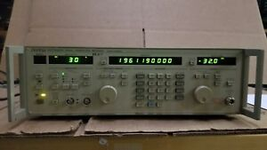 Anritsu Mg3632a Synthesized Signal Generator 100khz 2080mhz Options 03 04