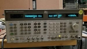 Hp 8644b Synthesized Signal Generator 0 26 2000mhz Options 001 002 010 011 Good