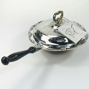 Chafing Dish International Silver Vintage Silverplate Server Stand Plate Warmer