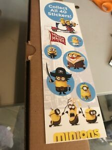 Minions Stickers From Vending Machine Free S h