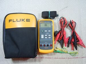 Fluke 712 Rtd Calibrator Kit With 2 Set Leads Fluke Case 57969