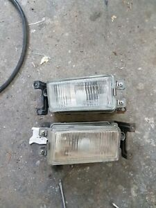 1990 1991 Honda Prelude Oem Fog Lights With Switch Ba3 Ba4 Ba5 Ba7