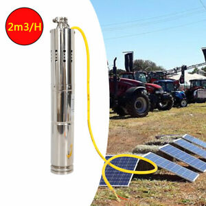 High Quality Deep Well Submersible Pump Solar Dc Screw Water Pump 12v 18v 2m3 h