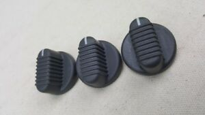 Chevy Suburban Tahoe Small Overhead Ac Heater Climate Control Knob Set Of 3
