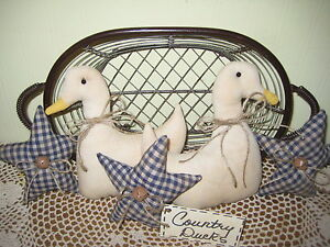 Ducks Stars Bowl Fillers Farmhouse Wreath Making Country Kitchen Home Decor
