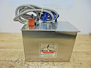 Koolmist Mist 352ff12 Coolant System With Stainless Tank 3 Gallon 2 Outlets