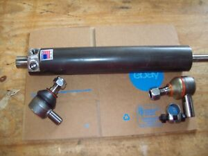 Ford Backhoe Power Steering Cylinder With Tie Rod Ends 555 555a 555b 655 655a