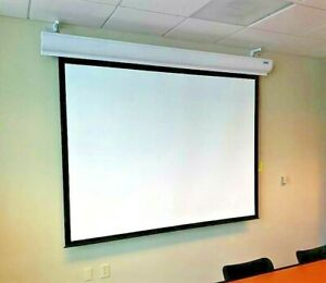 Da lite Contour Motorized Video Format Projector Screen 60 X 80 88368l