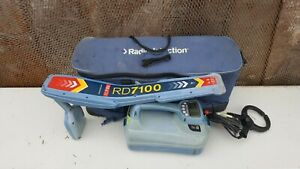 Radiodetection Spx Rd7100 Dl T5 Pipe Cable Fault Locator