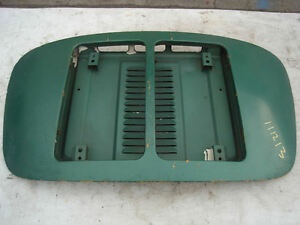 Porsche 356 Engine Motor Deck Lid Cover Open Car Roadster Cabrio Convertible T6