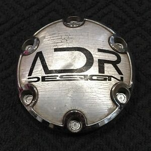 Adr Design Adr11 Chrome Custom Wheel Center Rim Cap Lug Hub Cover Am007