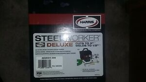Harris Deluxe Steel Worker 510 Oxy Acetylene Cutting Torch Kit 4403225