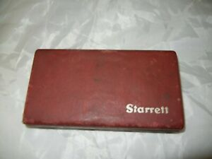Starrett No 711 Last Word Indicator Set 001