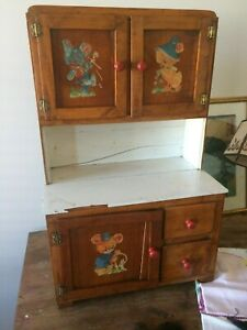 Delightful Old Children S Cupboard Local Pickup Only