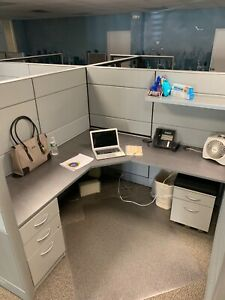 Tayco Panelink Office Cubicles 10 Large In Great Condition