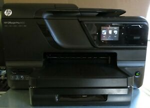 Hp Officejet Pro 8600 Printer scanner fax Network Total Pages 15175 Color Ink