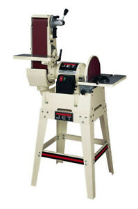2 Day Sale Jet 708599k Jsg 6dck 6 in X 48 in Belt 12 in Disc Combination Sander