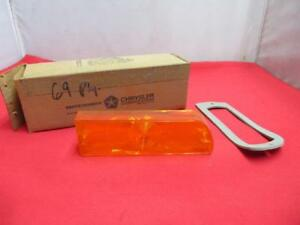 1969 Plymouth Fury Sport Fury Front Turn Signal Amber Lens Lt 2932803