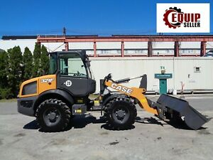New Unused 2019 Case 321f Wheel Loader Skid Steer Forks Bucket Ac Heat