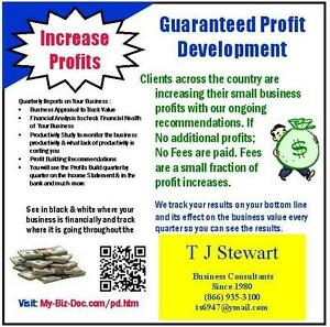 Guaranteed Small Business Profit Increases No Profit No Fee