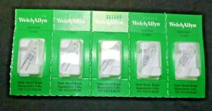 Welch Allyn 06300 u Lamp Halogen 20w Replacement Bulb Lot Of 5