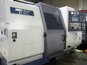 1999 Mori Seiki Zl 150 6 axis Cnc Lathe W Sub spindle Twin Turret Live Tooling