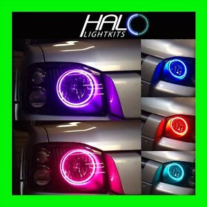 Oracle Colorshift Halo For Nissan Frontier 2001 2004 Headlight Led Kit remote