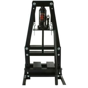 Black Bull Shop Press 6 Ton A Frame Heavy Duty Welded Steel 12 000 Lb Capacity