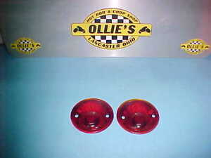 1932 1933 Plymouth 1937 48 Wagon 37 1953 Dodge Truck Glass Tail Light Lenses