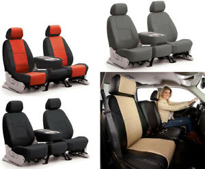 Coverking Synthetic Leather Custom Seat Covers For Dodge Ram Truck 150 1500