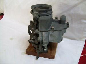 Vintage Special Holly 94 Model 21 29 Ford 2bbl Carburetor Owned Ray Harroun Jr